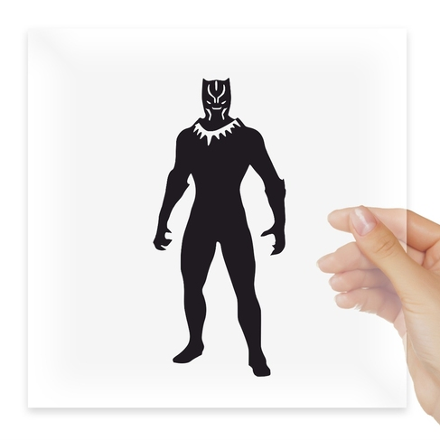 Наклейка Marvel Comics Avengers Black Panther